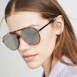 Quay Brown Tortoise Lickety Split Sunglasses